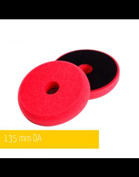 NAT DA Czerwona Średni Miękka gąbka polerska 135mm