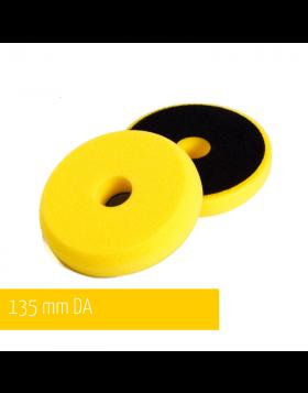 NAT DA Żółta Średnia gąbka polerska 135mm