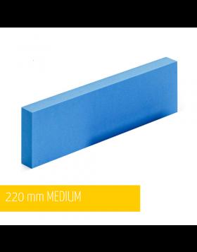 NAT Klocek Szlifierski Twardy Niebieski Plus 22cm