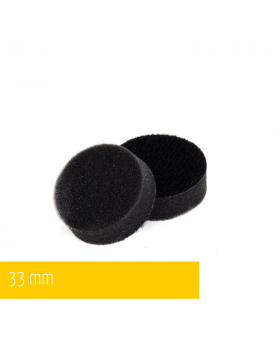 NAT Czarna Bardzo miękka gąbka polerska 33mm