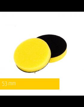 NAT Żółta Średnia gąbka polerska 50mm