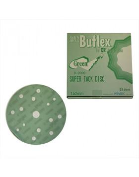 Kovax Buflex Green K2000 150mm 15otw. Krążek ścierny