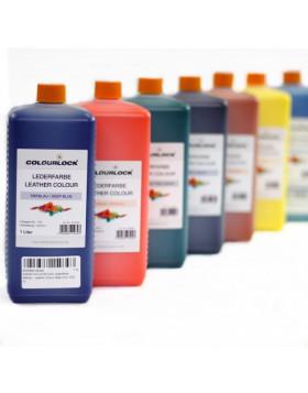 Colourlock Farba Do Skóry Schoko Ciemnobrązowa 1L