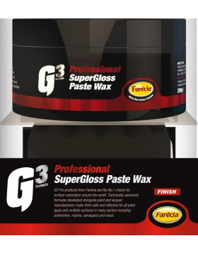 Farecla G3 Professional Super Gloss Paste Wax 200g