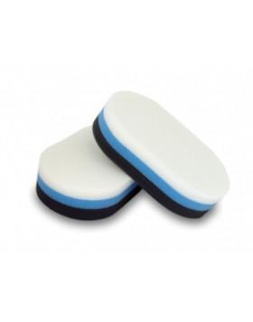 Flexipads Tri-Color Aplikator Biało-Niebiesko-Czarny