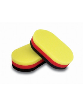 Flexipads Aplikator Tri-Color Żółto-Czerwono-Czarny
