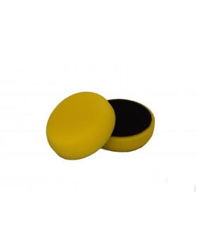 NAT Żółta Średnia gąbka polerska 80mm
