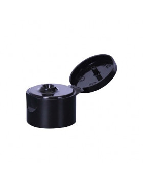 Nakrętka Czarna Flip Top Cap 24mm