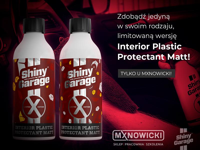 Shiny Garage Interior Plastic Protectant Matt by MXN